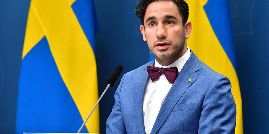 Ardalan Shekarabi, som är Sveriges socialförsäkringsminister tillika spelmarknadens huvudman
